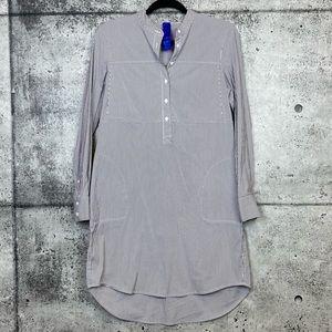 Kit and Ace // Striped Shirt Dress